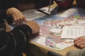 Beispielbild für eine Vor-Ort-Veranstaltung zur Stadtentwicklung.