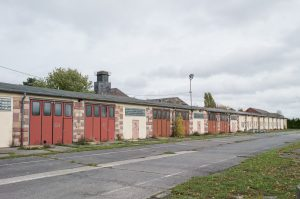 Ansicht der ehemaligen Ray Barracks Kaserne Friedberg. Die Umgestaltung des Areals wurde mit einer Online-Bürgerbeteiligung begleitet.